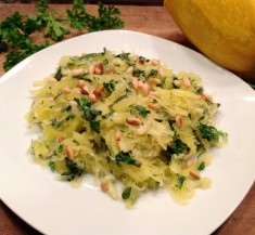 Garlic and Herb Spaghetti Squash