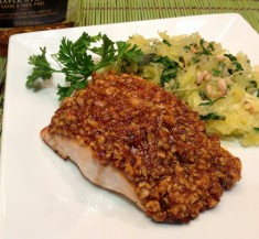 Maple and Walnut Salmon