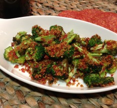 Roasted Broccoli with Kicked-Up Crumbs