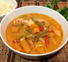 Slow Cooker Thai Chicken Stew