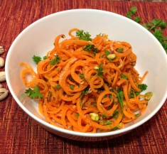 Carrot Salad with Pistachios
