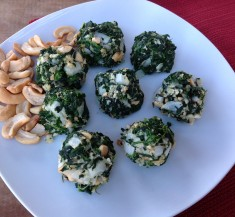 Skinny Spinach Clusters