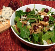 Spinach Walnut Powerhouse Salad
