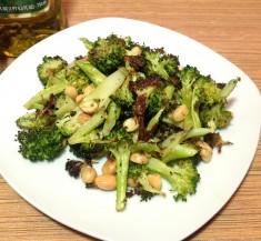 Roasted Broccoli with Peanuts