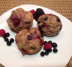 Maple Berry Muffins