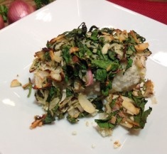 Spinach Loaded White Fish