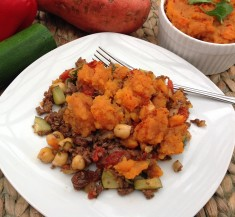 Moroccan Sweet Potato Shepherd's Pie