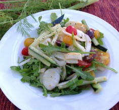 Fresh Arugula and Fennel Salad