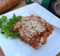 Baked Quinoa Chicken Parmesan