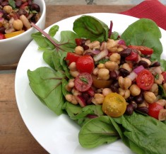 Three Bean Salad (Healthified)