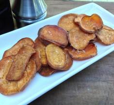Salt and Vinegar Roasted Sweet Potatoes