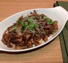 Seasoned Sauteed Mushrooms