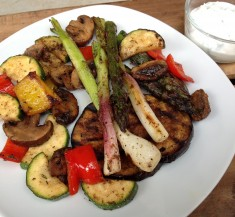 Grilled Jerk Vegetables