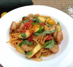 Cajun Style Shrimp Pasta