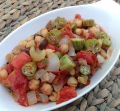 Okra and Tomato Saute