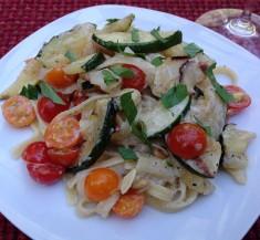 Zucchini Fettuccine Alfredo