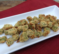 Healthi-Fried Okra
