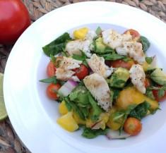 Avocado Seafood Mango Salad