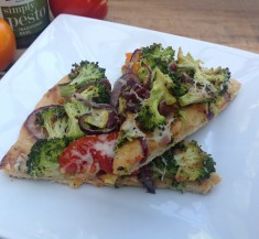 Roasted Broccoli Pizza