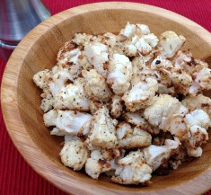 Popcorn Roasted Cauliflower