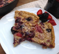 Fruit-Topped Dutch Baby Pancake