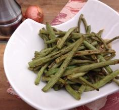 Honey Mustard Roasted Green Beans