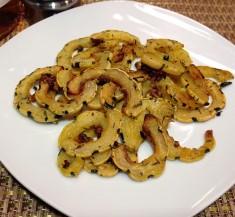 Maple Garlic Roasted Squash