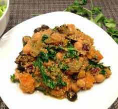 One-Pot Moroccan Butternut Squash and Quinoa