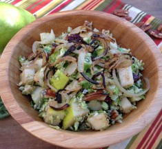 Pear and Brussels Sprouts Salad