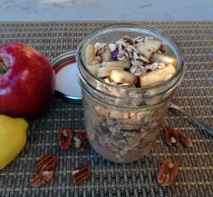 Apple Pie Overnight Oatmeal