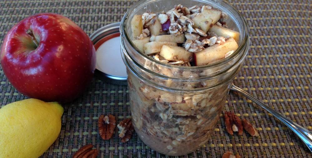 Apple Pie Overnight Oatmeal