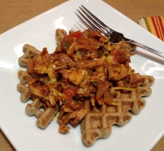 Turkey Sloppy Joes & Waffles