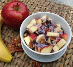 Scrumptious Swiss Oats & Fruit