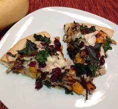 Turkey Butternut Squash Pizza with Caramelized Onions