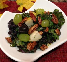 Fall Inspired Kale Salad