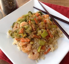 Zesty Shrimp Stir Fry