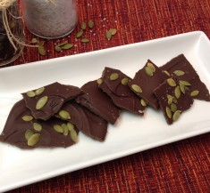 Mexican Spiced Dark Chocolate Bark