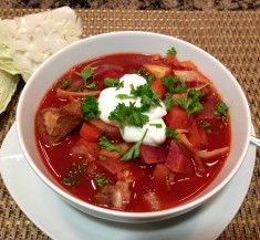 Slow Cooker Borscht Stew