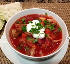 Slow Cooker Borscht Stew