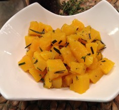 Herb Roasted Butternut Squash