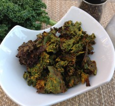 Curry Spiced Kale Chips