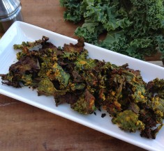 Super Kool Ranch Kale Chips
