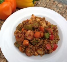 Jambalaya Lentil Bowl