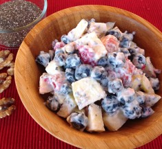 Yogurt Fruit 'n Nutty Salad