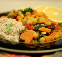 One-Pot Moroccan Vegetable Curry