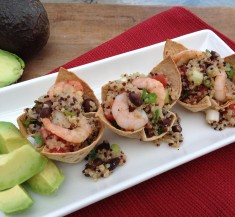 Quinoa Shrimp Cups