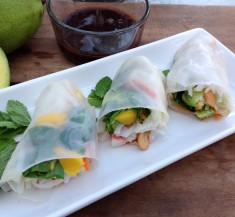 Tropical Seafood Spring Rolls