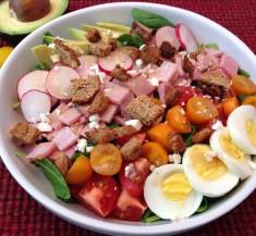 Classic Ham Cobb Salad