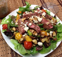 Steak and Roasted Vegetable Medley