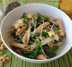 Spring Parsnip and Asparagus Pasta
